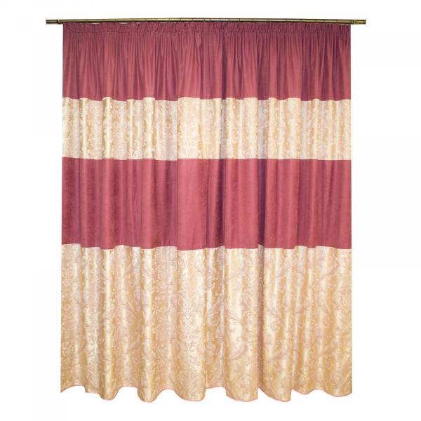 Set draperii sama roz, unicat, 2x160x220 cm 1