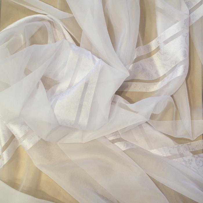 Perdea Velaria voal Elizabeth alb, 380x260 cm 1