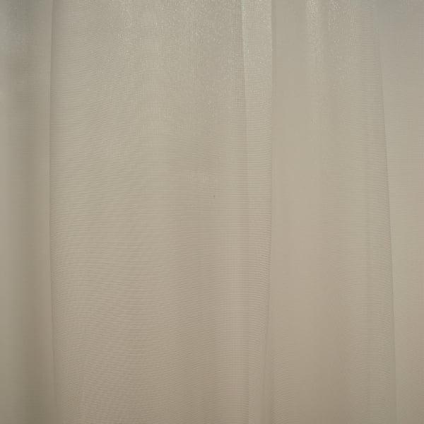 Perdea din tiul alb cu parte florala, 180x160 cm 1