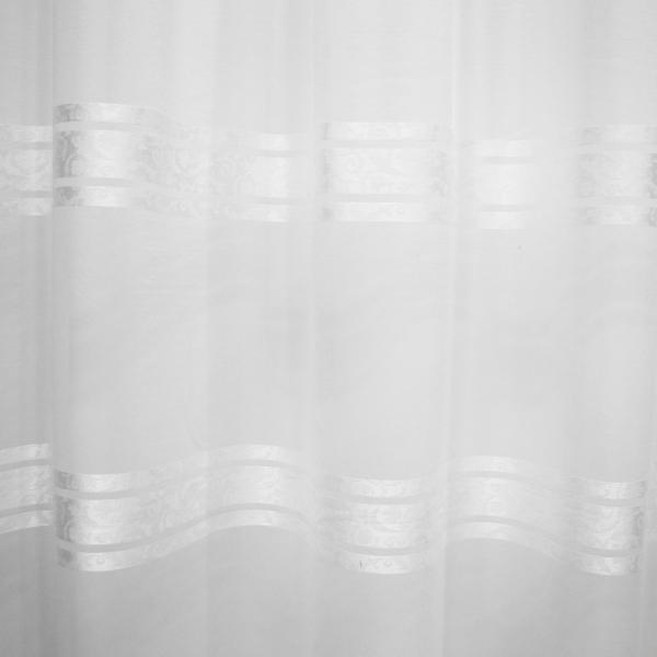 Perdea Velaria voal Elizabeth alb, 380x260 cm 4