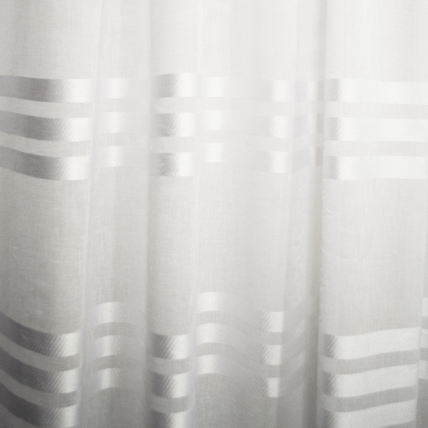 Perdea bandsave alb, 260x245 cm 2