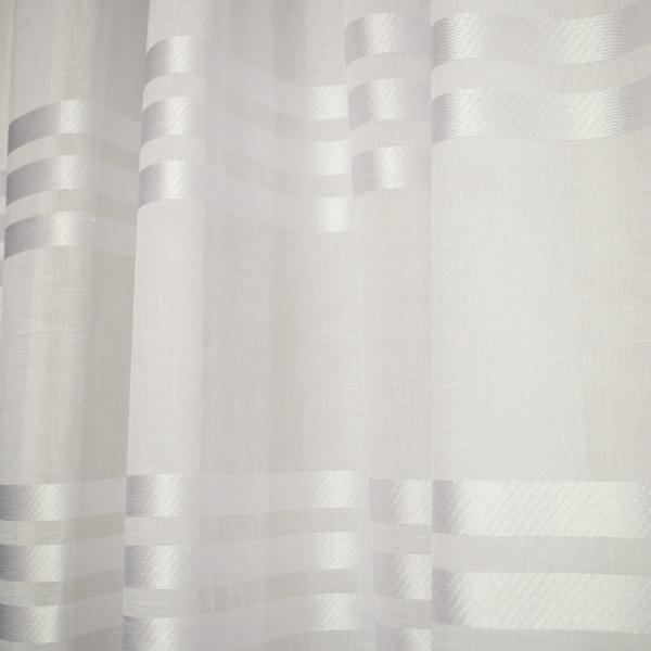 Perdea bandsave alb, 260x245 cm 1