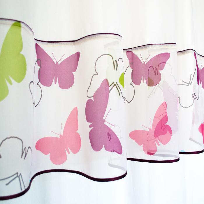 Perdea Velaria fluturi multicolori 1