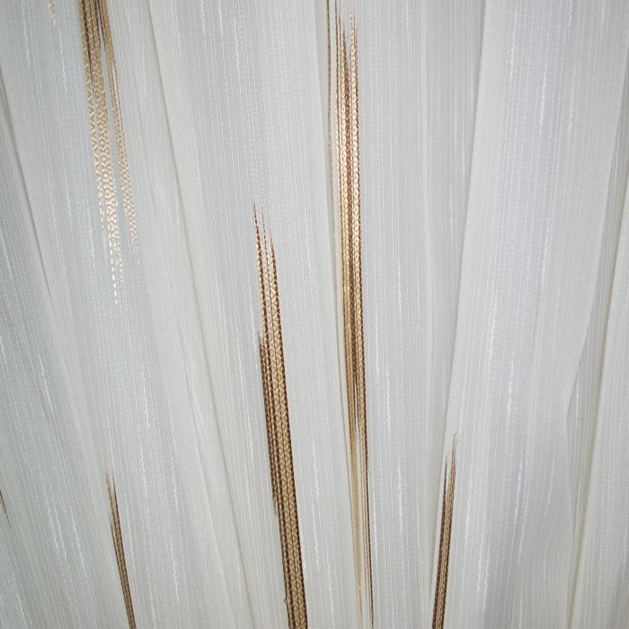 Perdea Velaria linii maro, 260x245 cm 3