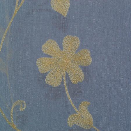 Perdea Velaria cu floare bej, diverse dimensiuni 1