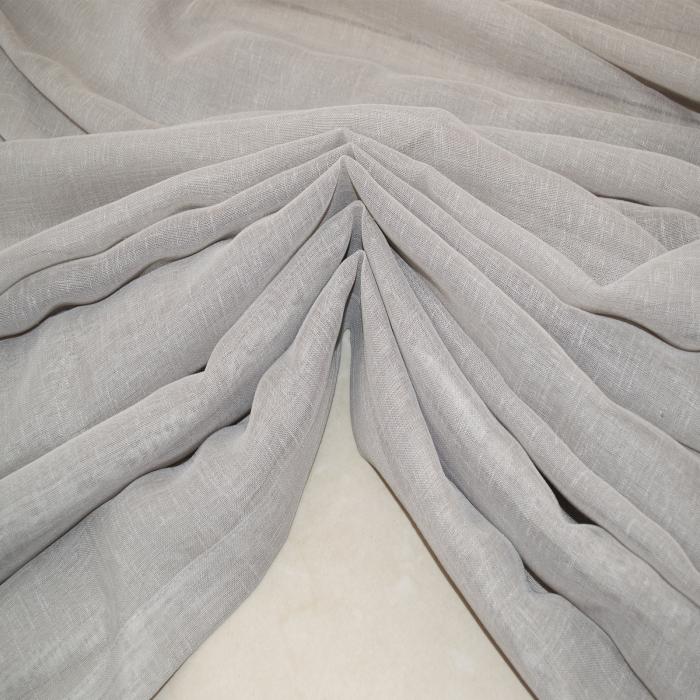 Perdea Velaria in gri cu rejansa, 890x250 cm 2