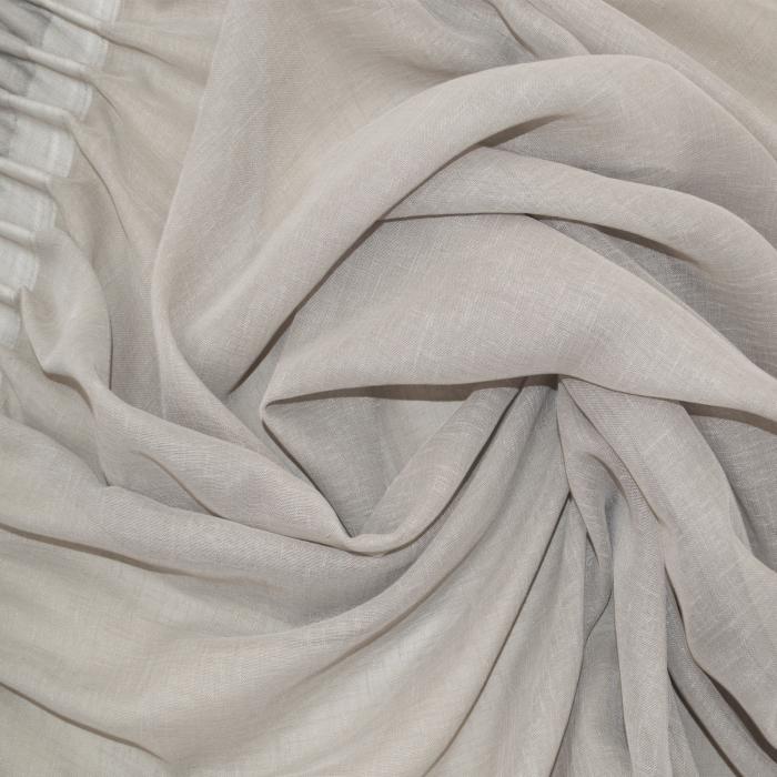 Perdea Velaria in gri cu rejansa, 890x250 cm 1
