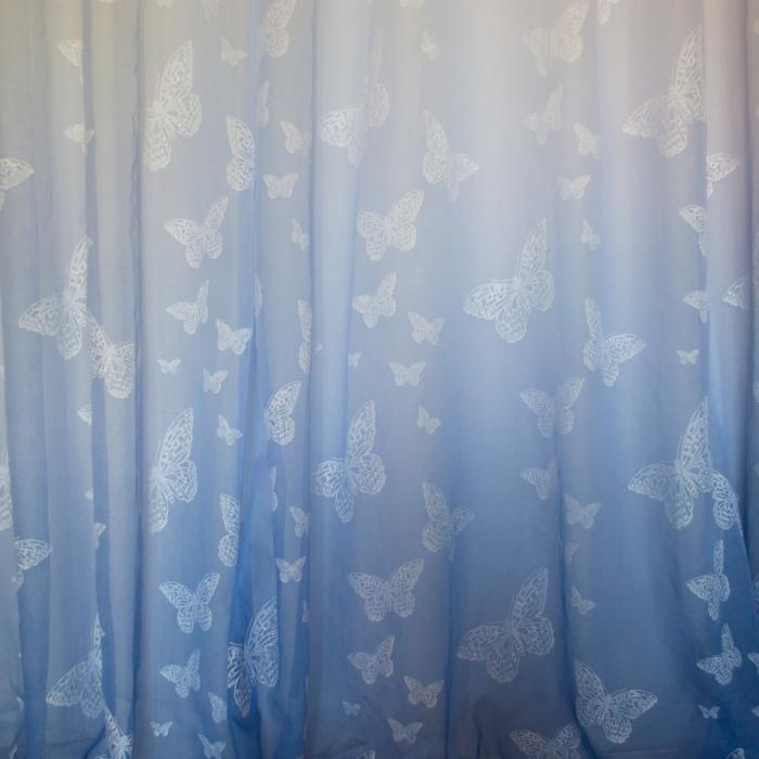 Perdea Velaria fluturi albastri degrade, 280x275 cm 3
