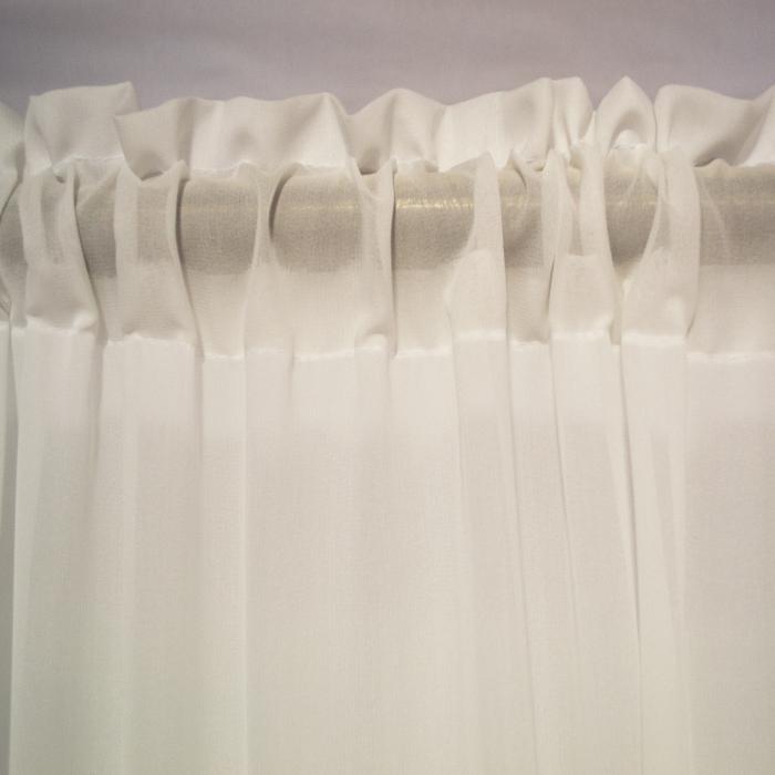 Perdea Velaria Georgette unt, 300x225 cm [2]