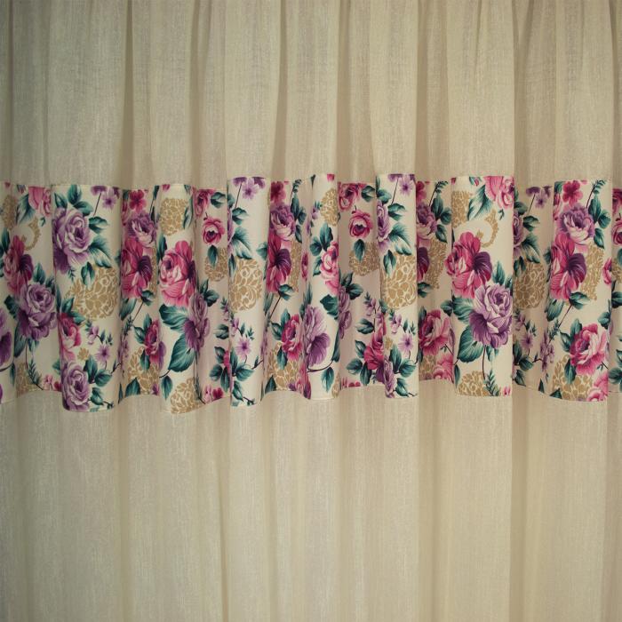 Perdea Velaria luxor floral, 400x160 cm 1