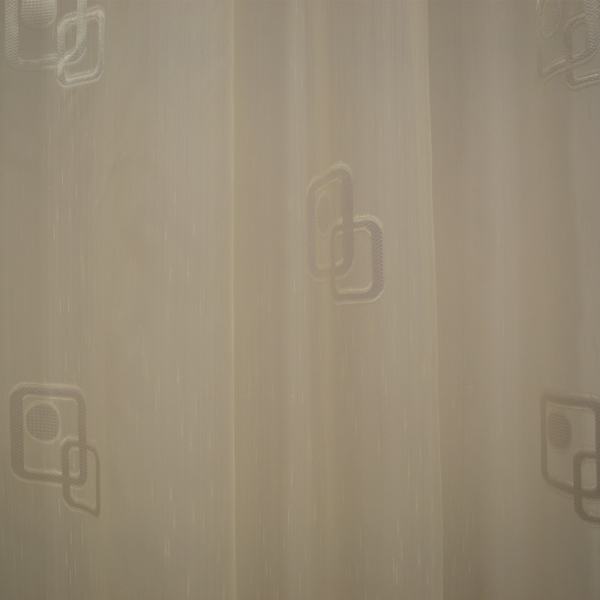 Perdea Velaria sable cu patrate, 280x145 cm 2