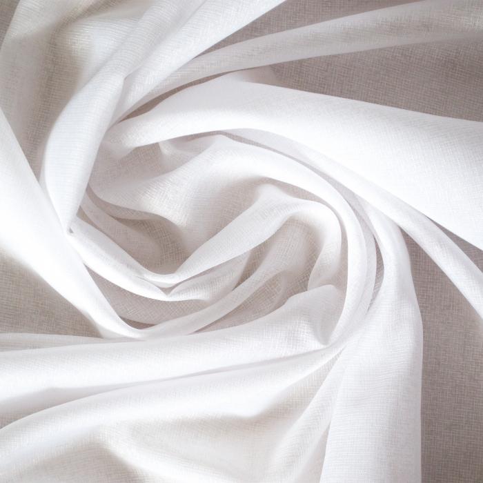 Perdea Velaria in cristal alb cu fluturi mov, 390x150 cm 4