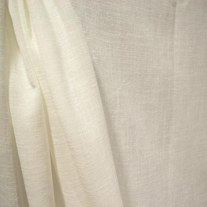 Perdea Velaria in ivoire gros cu imprimeu floral, 245x145 cm 2