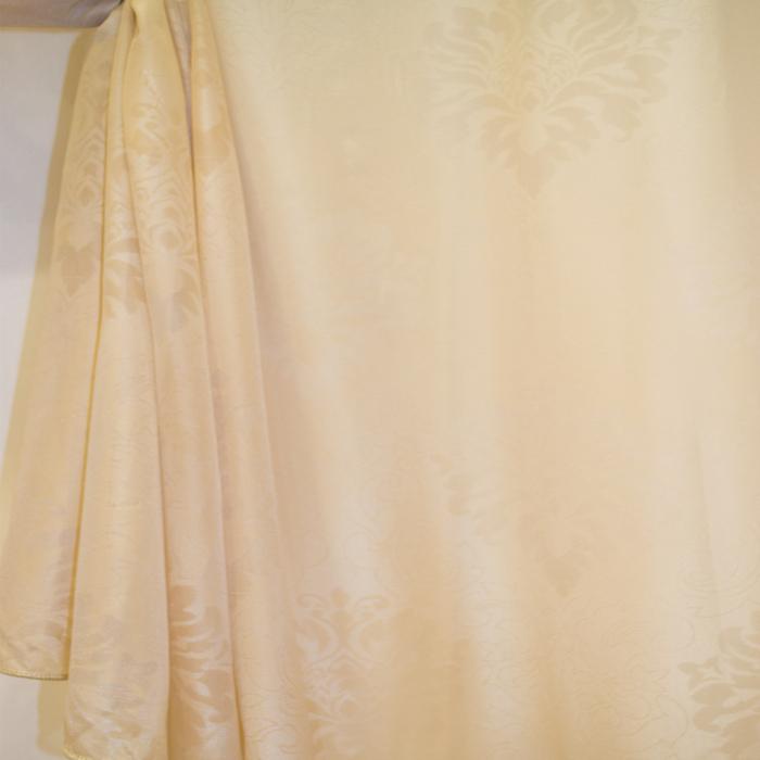 Perdea Velaria baroc bej, 225x245 cm 2
