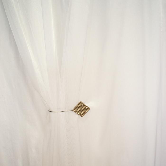 Perdea Velaria alba, lucioasa, 155x245 cm 2