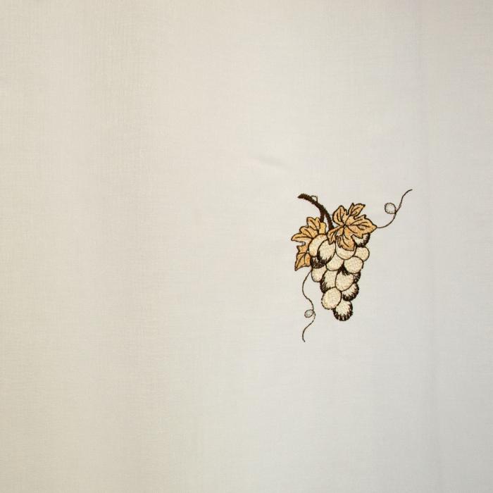 Perdea Velaria ivoire cu struguri, 100x165 cm [1]