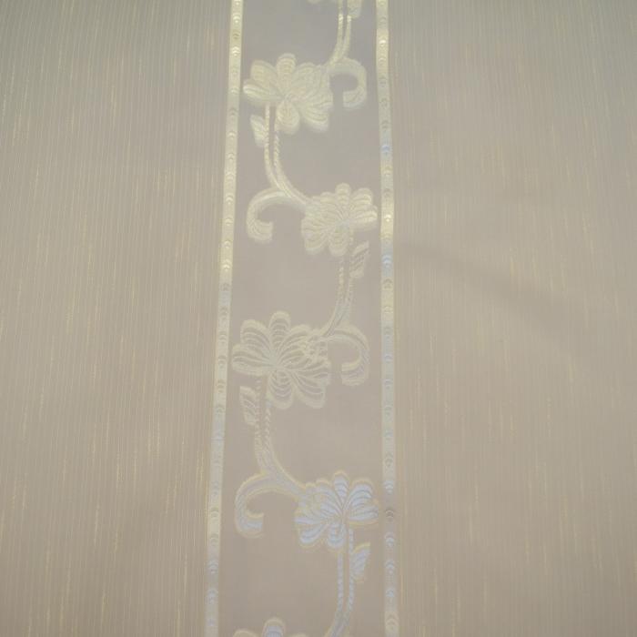 Perdea Velaria sable flori unt, 150x110 cm 2