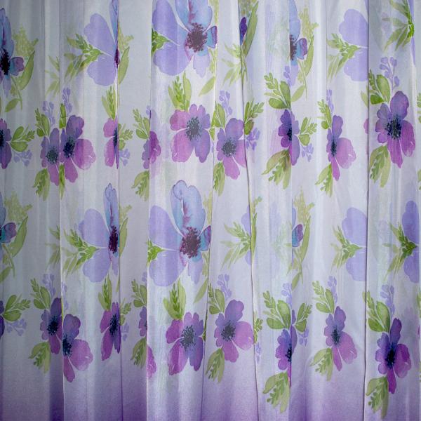 Perdea Velaria cu flori de campie 460x245 cm 1