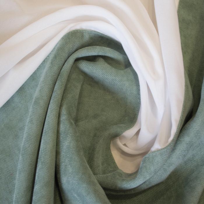 Perdea Velaria ivoire de bucatarie, 180x145 cm 1