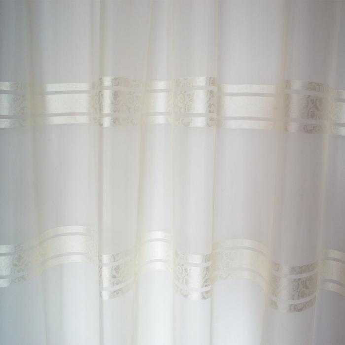 Perdea Velaria voal Elizabeth ivoire, 280x250 cm 3