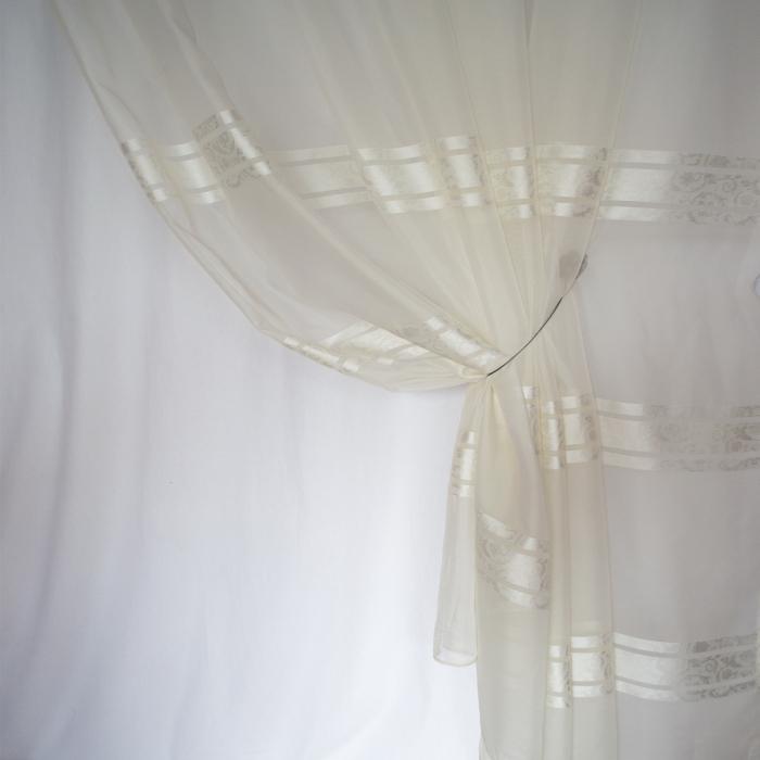 Perdea Velaria voal Elizabeth ivoire, 280x250 cm 2