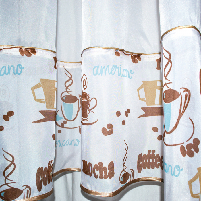 Perdea Velaria café mocha, 320x200 cm 1