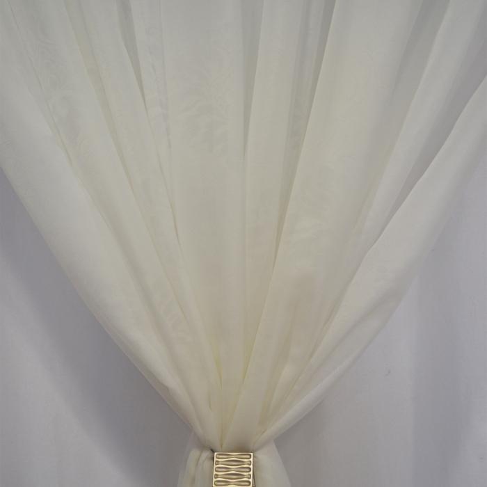 Perdea Velaria voal unt imprimat, 415x245 cm 3
