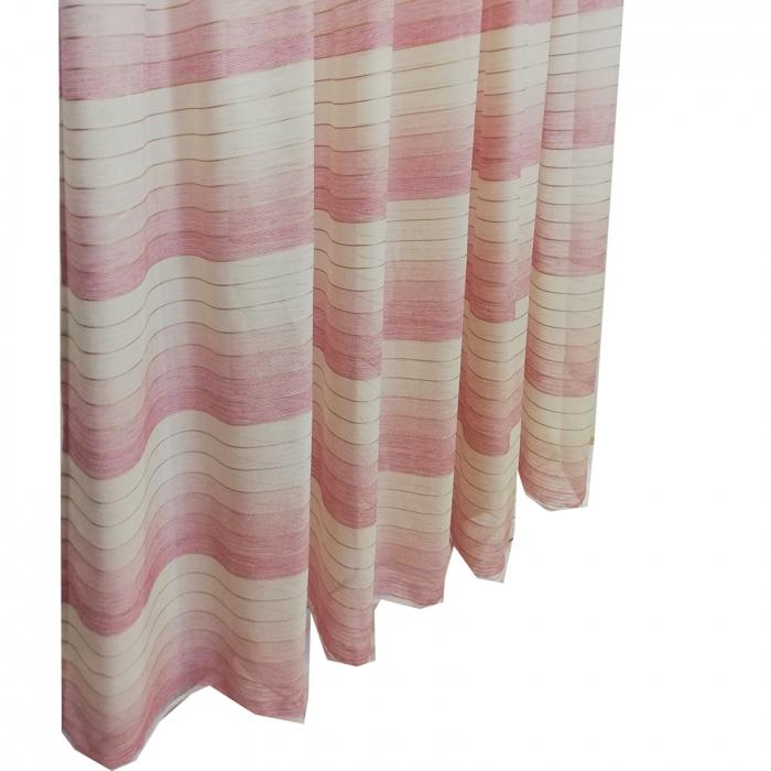 Perdea Velaria in dunga roz 320x260 cm 2