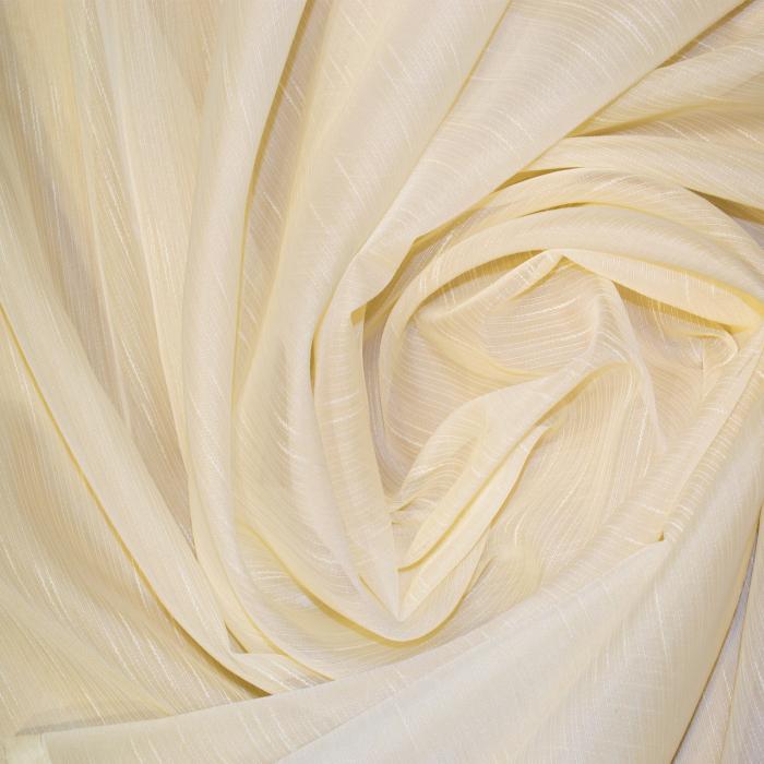 Perdea Velaria sable simplu crem, 95x180 cm 1