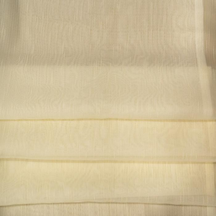 Perdea Velaria sable simplu crem, 95x180 cm 2