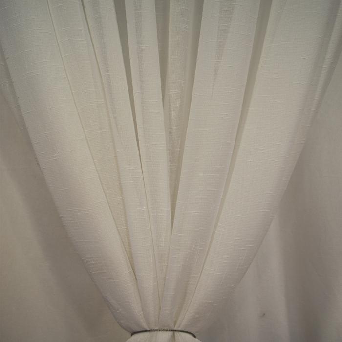 Perdea Velaria in simplu alb, 200x250 cm 3