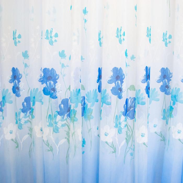 Perdea Velaria voal lalele albastre [2]