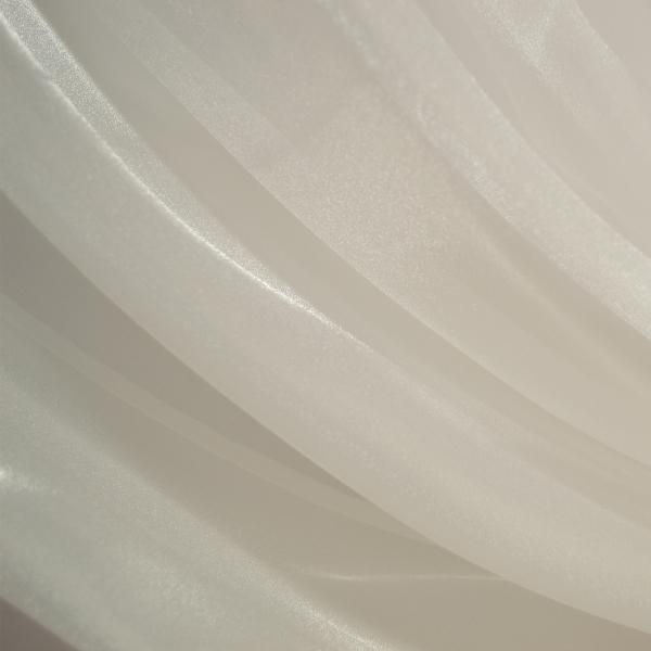 Perdea Velaria organza alba, 390x235 cm 0