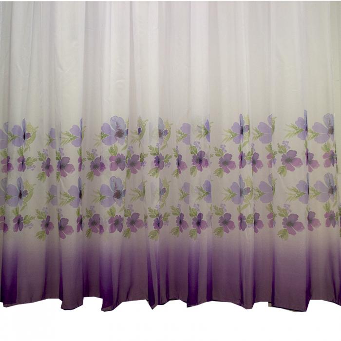 Perdea Velaria voal flori mov450x245 2