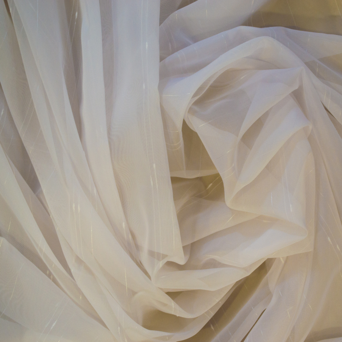 Perdea Velaria voal ploita ivoire, 335x245 cm 4