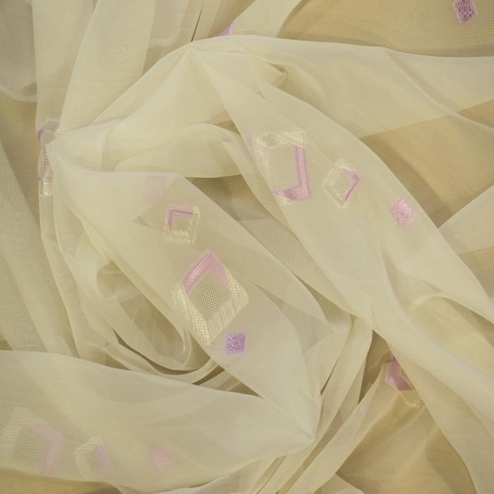 Perdea Velaria voal romb lila, 480x245 cm 1