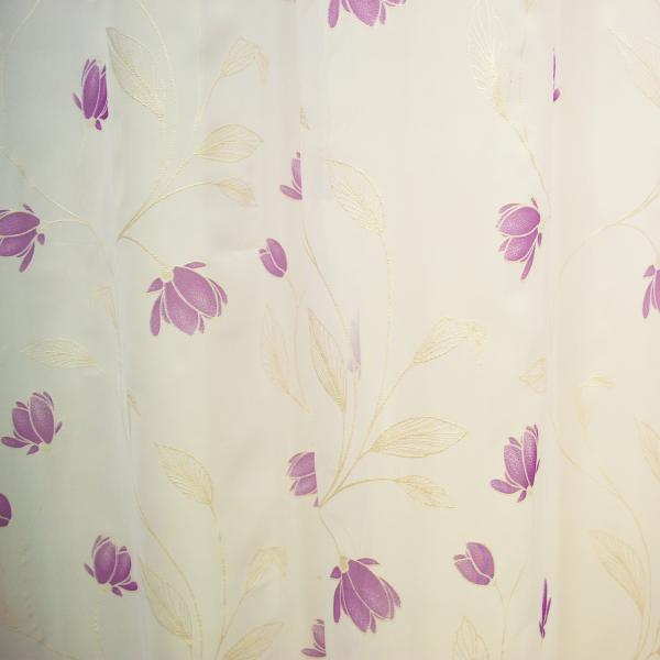 Perdea superpaint flowers purple, 290x245 cm 1