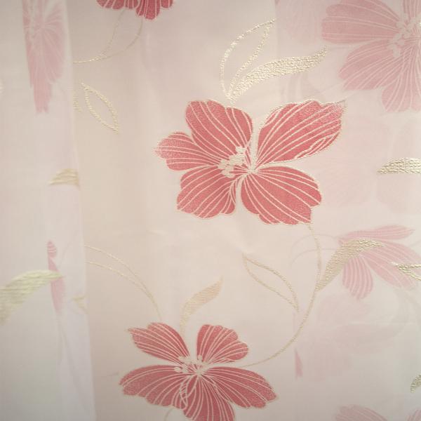 Perdele Velaria  voal rosu pictat 250x245 cm [1]