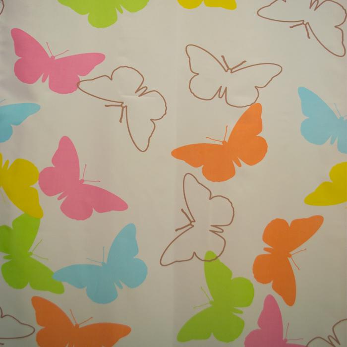 Perdele Velaria fluturi colorati 135x245 cm 1
