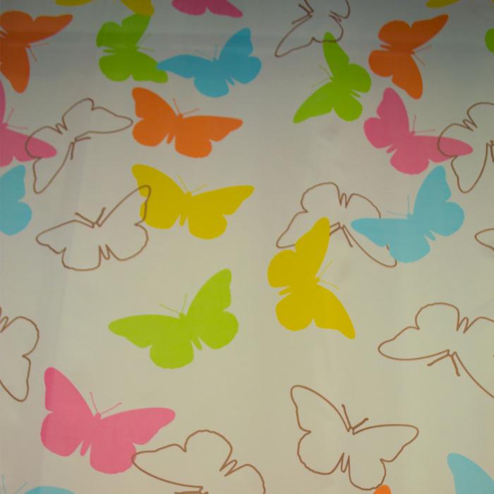 Perdele Velaria fluturi colorati 135x245 cm 0