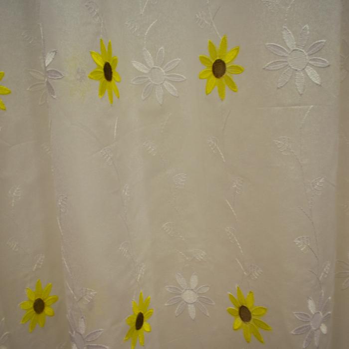 Perdele Velaria bucatarie floarea soarelui crem 0