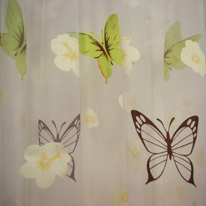 organza cu fluturi si fluturasi usoara suava minunata perdele copii 2