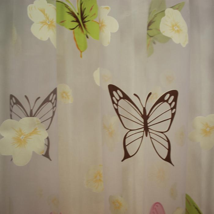 organza cu fluturi si fluturasi usoara suava minunata perdele copii 5