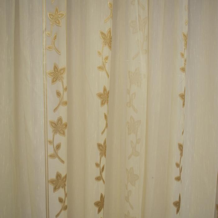 Perdele Velaria Sable floare cream 510 X 245 cm 3