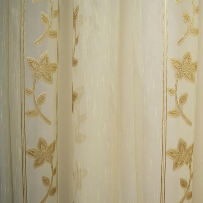 Perdele Velaria Sable floare cream 510 X 245 cm 1
