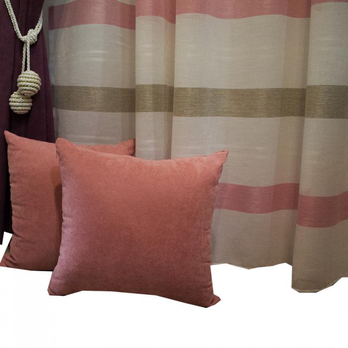 Perna Velaria roz 40/40 cm 2