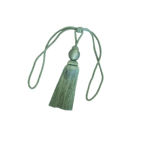 Set 2 canafi textili Larissa, 77 cm - verde 1