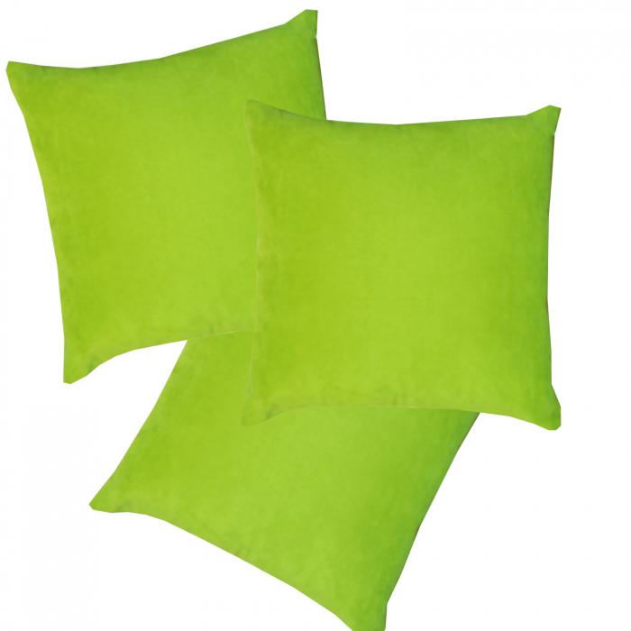Set 3 perne Velaria verde deschis, 40/40 cm 0
