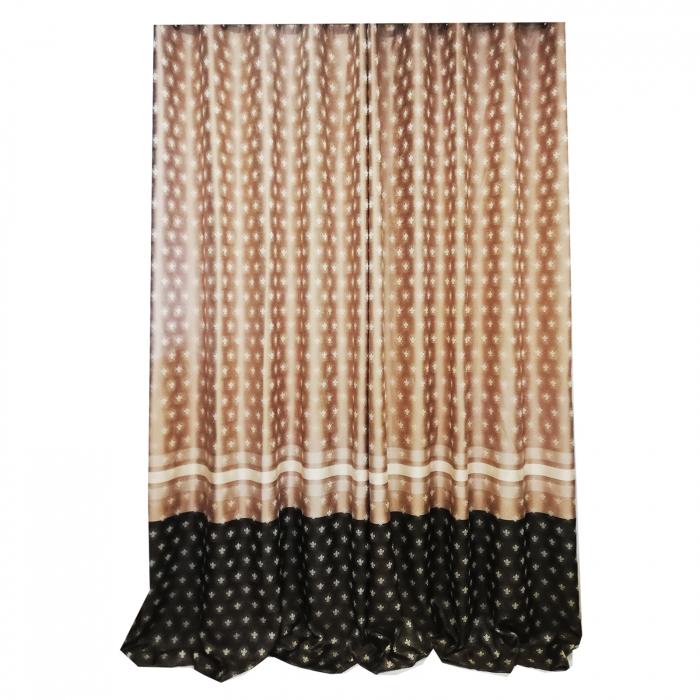Set draperie Velaria Tafta 2 culori 140X260X2 1