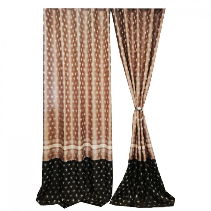 Set draperie Velaria Tafta 2 culori 140X260X2 0